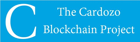The Cardozo Blockchain Project