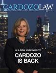 2021 Cardozo Life (Fall) by Benjamin N. Cardozo School of Law