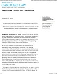 Cardozo Law Expands Data Law Program