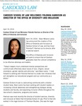 Cardozo School of Law Welcomes Yolonda Harrison as Director of the Office of Diversity and Inclusion - Cardozo Law
