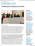 Six Women Discuss Succeeding in the IP Sector