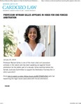Professor Myriam Gilles Appears in Video for End Forced Arbitration