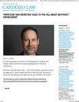 Professor Sam Weinstein talks to The Hill about Antitrust Enforcement