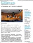 Heyman Center Hosts Antitrust Panel Event