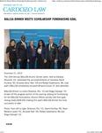 BALLSA Dinner Meets Scholarship Fundraising Goal