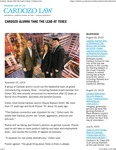 Cardozo Alumni Take the Lead at Terex