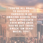 #Cardozo20for20 by Jeffrey T. Schwartz