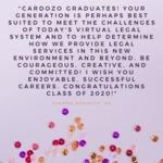 #Cardozo20for20 by Dianne Renwick