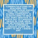 #Cardozo20for20 by Julia Zuckerman