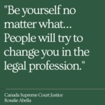 #Cardozo20for20 by Canada Supreme Court Justice Rosalie Abella