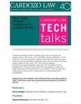 Tech Talk: Artificial Intelligence & Creative Works