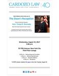 The Dean's Reception Featuring Keynote Speaker: Hon. Tanya R. Kennedy