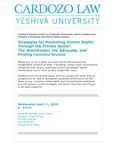 Strategies for Promoting Human Rights Through the Private Sector: the Shareholder, the Advocate, and Finding Common Ground