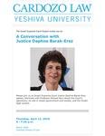 A Conversation With Justice Daphne Barak-Erez