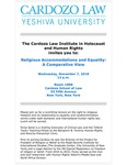 Religious Accommodations and Equality: A Comparative View