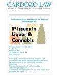 IP Issues in Liquor & Cannabis