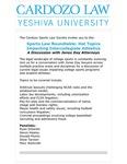 Sports Law Roundtable: Hot Topics Impacting Intercollegiate Athletics