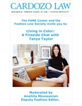 Living in Color: A Fireside Chat With Tanya Taylor