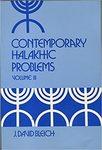 Contemporary Halakhic Problem Volume 3