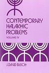 Contemporary Halakhic Problem Volume 4 by J. David Bleich