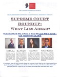 Supreme Court Roundup: What Lies Ahead