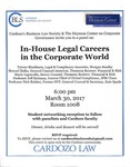 In-House Legal Careers in the Corporate World