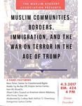 Muslim Communities: Borders, Immigrants, and the War on Terror in the Age of Trump