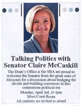 Talking Politics with Senator Clair McCaskill