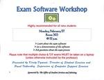 Exam Software Workshop