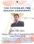 The Future of the Second Amendment with Alan Gura by Cardozo Federalist Society
