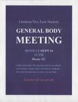 General Body Meeting by Cardozo Tax Law Society