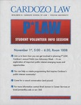 P*LAW Student Volunteer Info Session by Office of Career Services