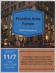 Practice Area Forum by Office of Career Services