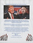 North Korea, Nuclear Weapons and the West: A Discussion of International Law with Professor Deborah Pearlstein by Cardozo International Law Society (CILS)