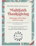 Multifaith Thanksgiving by Muslim Student Association (MSA), Cardozo Minority Law Student Alliance (MLSA), Southeast Asian Law Student Association (SALSA), and Jewish Law Student Association (JLSA)