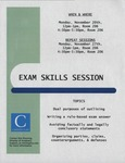 Exam Skills Session by Academic Support
