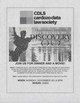 A Story About History…And the Future: The Decade of Discovery by Cardozo Date Law Society (CDLS)