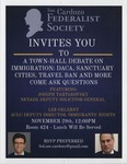 Town-Hall Debate on Immigration by Cardozo Federalist Society