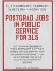 Postgrad Jobs in Public Service for 3Ls
