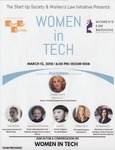 Women in Tech by Cardozo Startup Society and Women's Law Initiative