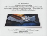 A Conversation with Chris Seeger by Dean's Office