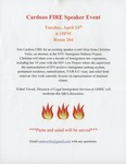 Cardozo FIRE Speaker Event by For Immigrants' Rights and Equality (FIRE)