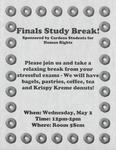 Finals Study Break!