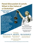 What is the Value of a Clerkship?