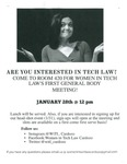 Are You Interested in Tech Law? by Benjamin N. Cardozo School of Law