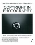 Copyright in Photography