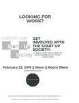 Get Involved with the Start Up Society