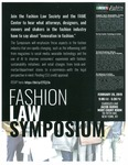 Fashion Law Symposium