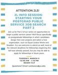 Starting Your Postgrad Public Service Job Search