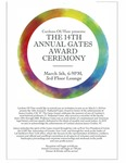 The 14th Annual Gates Award Ceremony